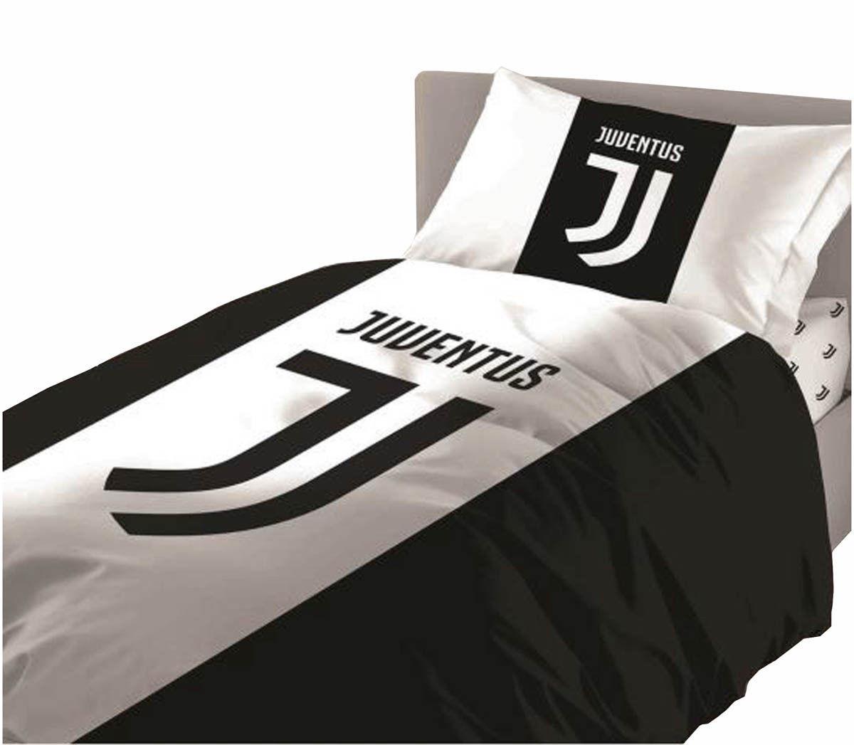 Juventus completo letto singolo 1 piazza federa lenzuola - Misure lenzuola letto singolo ...