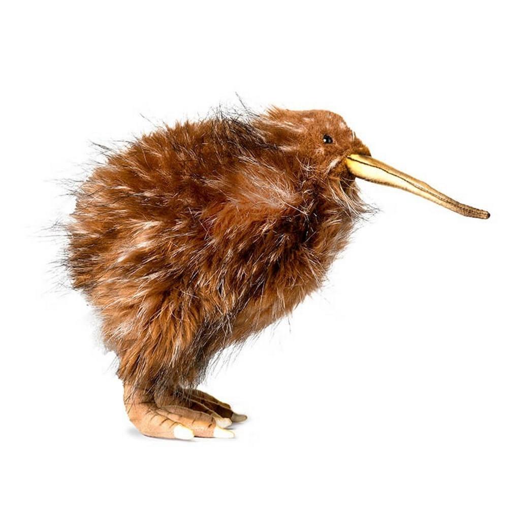 Peluche Uccello Kiwi 27 cm Realistico Hansa  | Pelusciamo.com