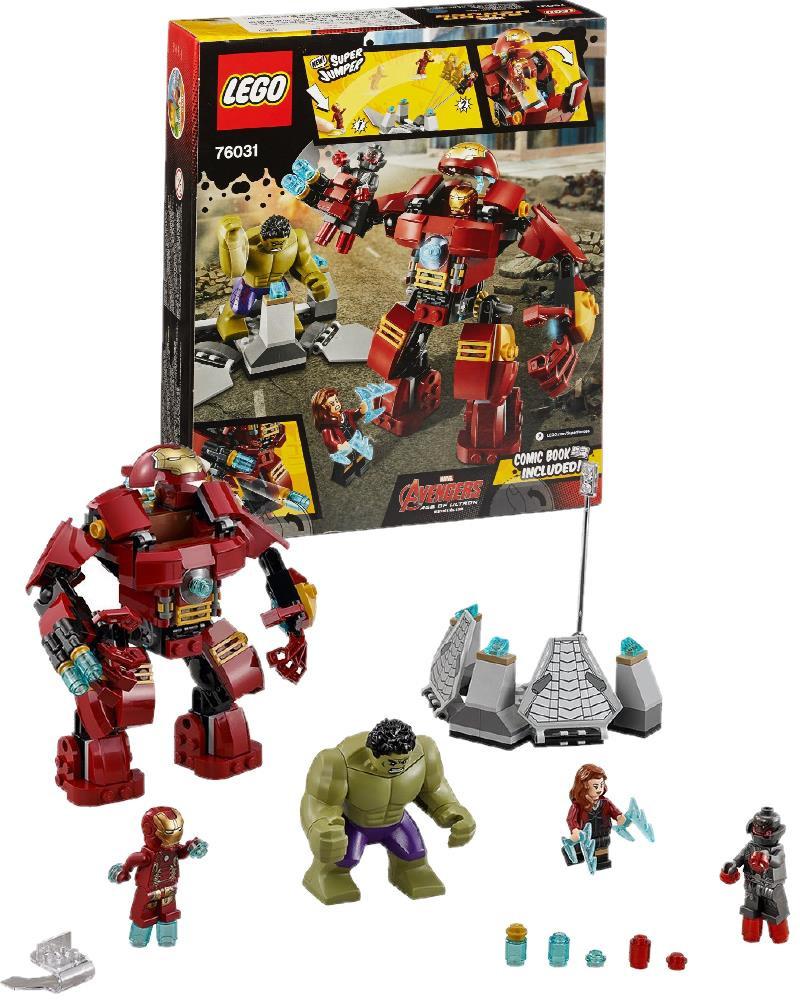 Lego super eroi marvel hulk buster smash gioco di