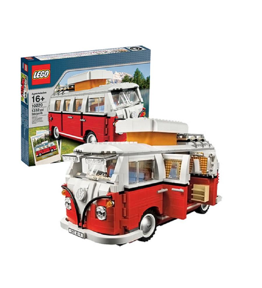 lego creator 10220 volkswagen t1 camper van 1334 pezzi 04931. Black Bedroom Furniture Sets. Home Design Ideas