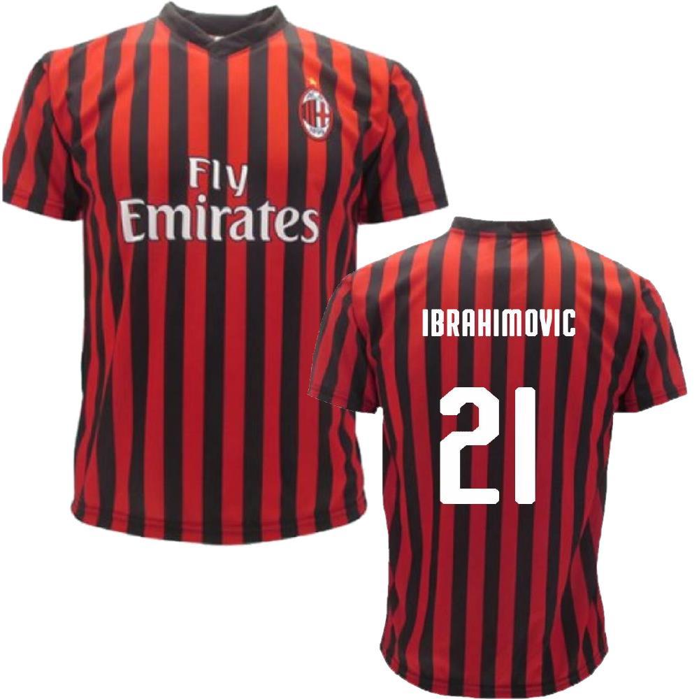 Felpa con Cappuccio Uomo Milan Ibrahimovic Zlatan