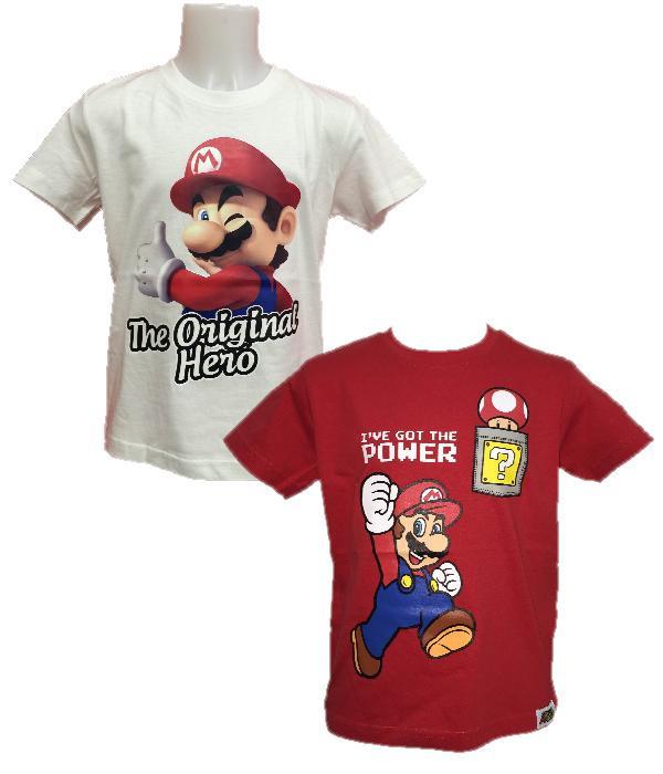 T-shirt Bambino Super Mario Bros , maglietta Nintendo   pelusciamo.com