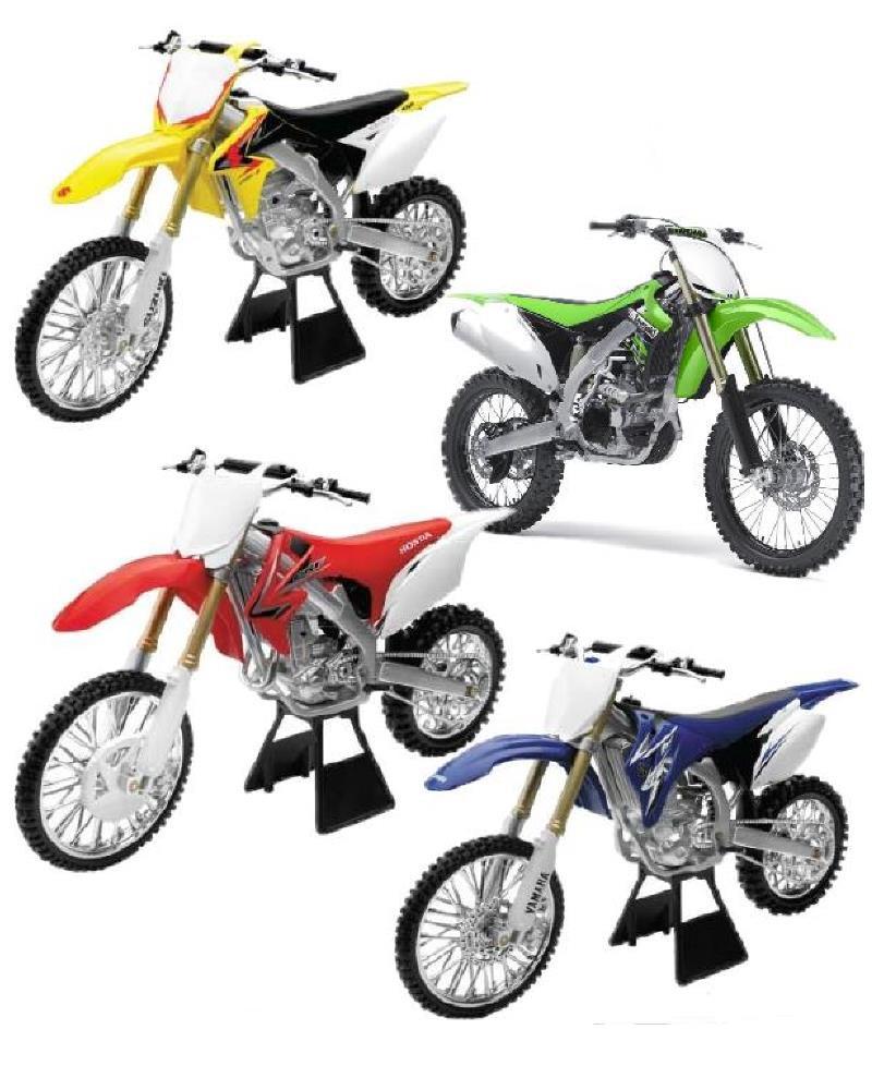 Modellini da collezzione newray motocross scala 1 6 honda for Yamaha honda kawasaki