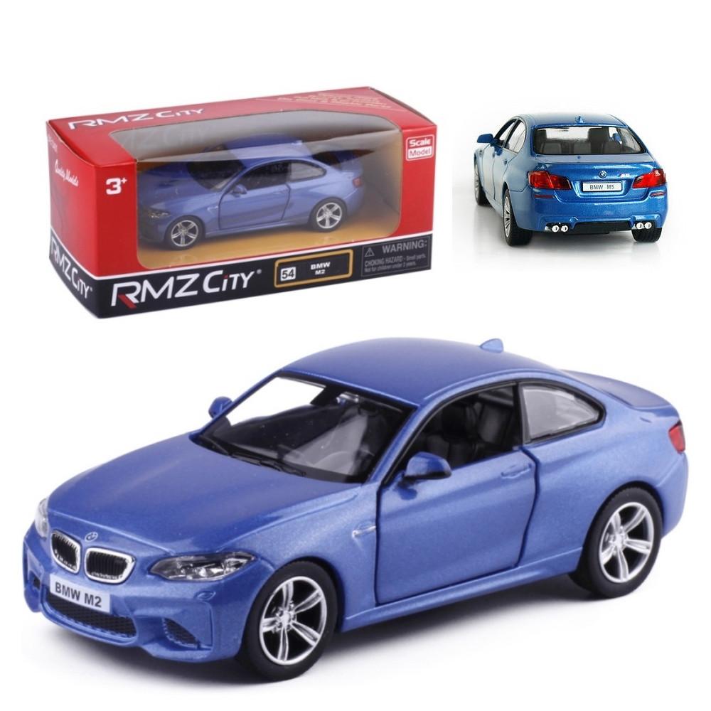 Bmw M2 Blu Modellini Automobili Rmz City Scala 1 32 Ps 09093 Retrocarica Pelusciamo Store