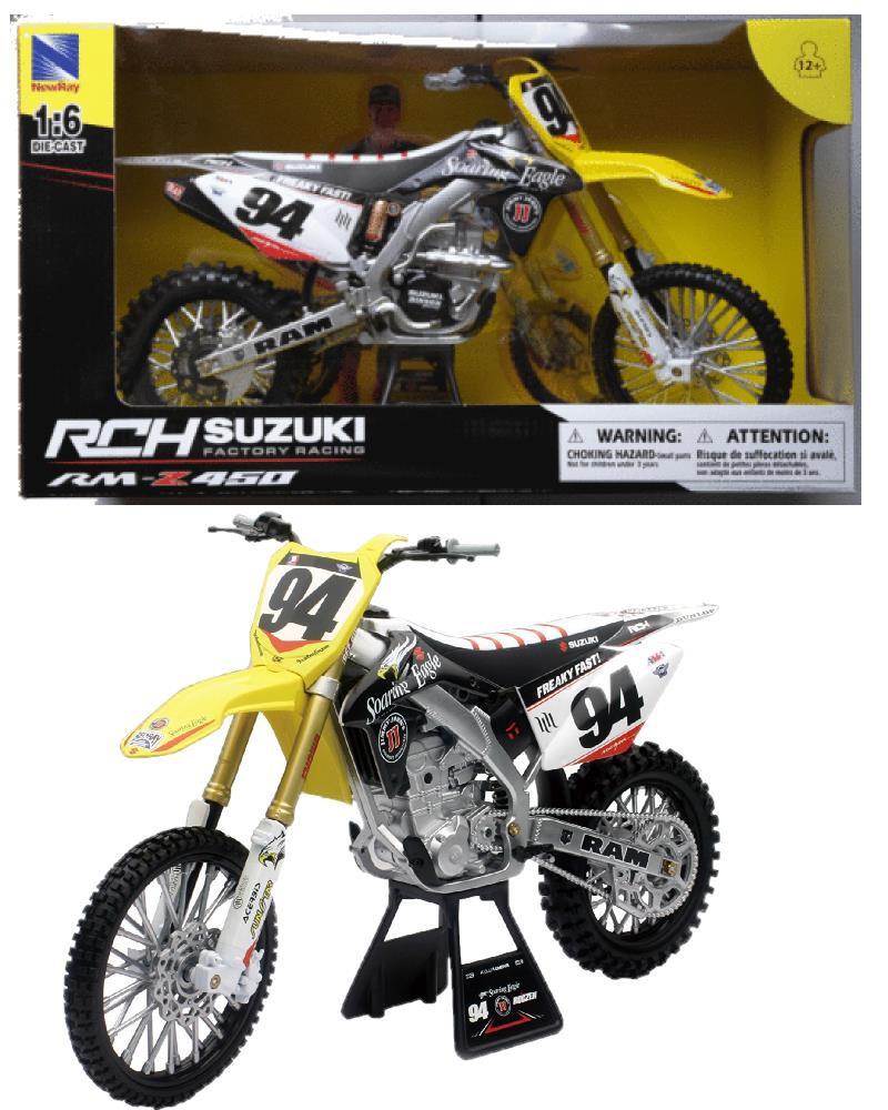 modellini motocross moto da cross suzuki rm z450 ken roczen 04744 pelusciamo store marchirolo. Black Bedroom Furniture Sets. Home Design Ideas