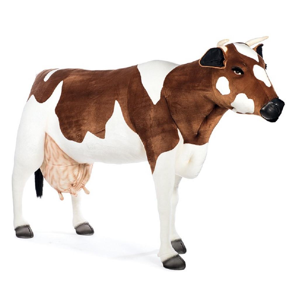 peluche mucca gigante