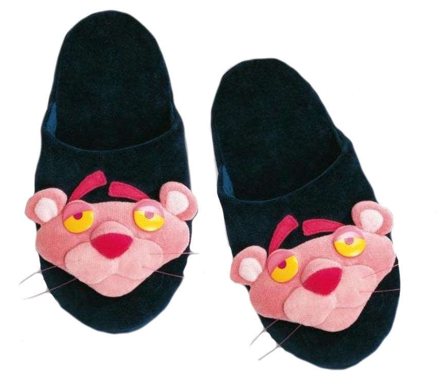 Ciabatte cartone animato pantera rosa pantofole blu
