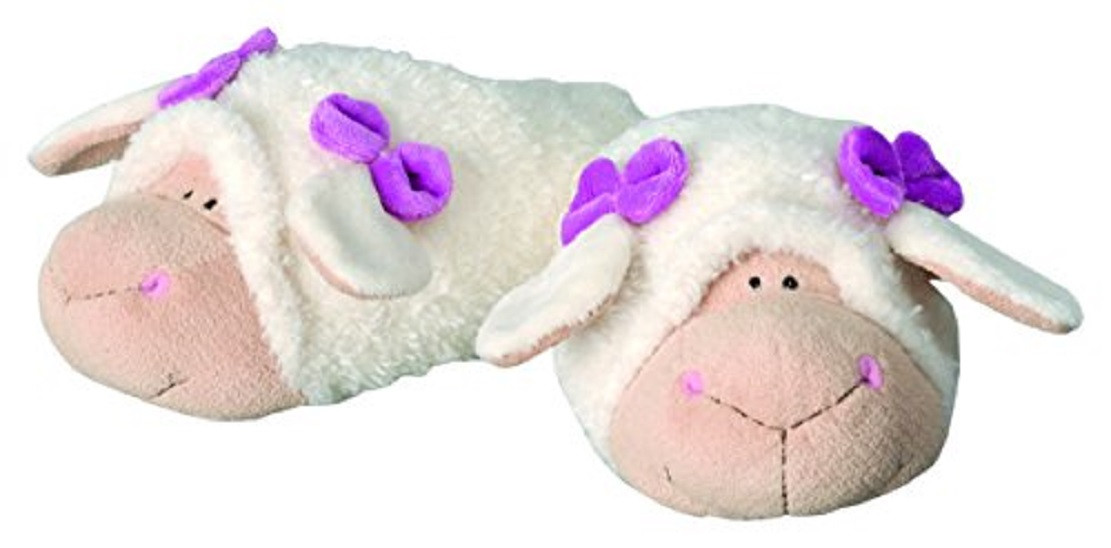 Pantofole in peluche calde moppine nici pecora jolly katie for Pantofole natalizie