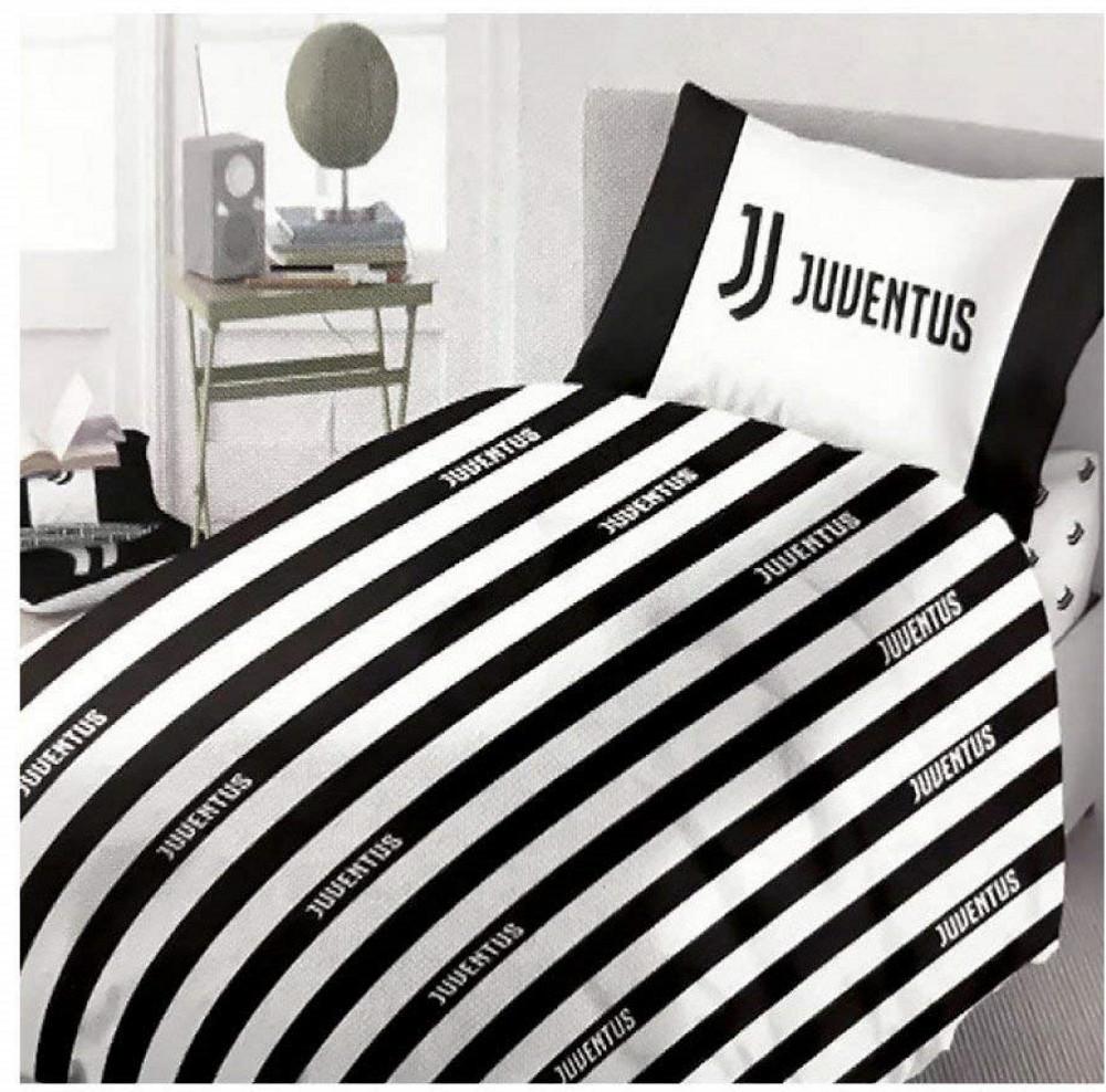 Copripiumino Matrimoniale Juventus.Juventus Parure Copripiumino Matrimoniale Juve Jj Ps 04998