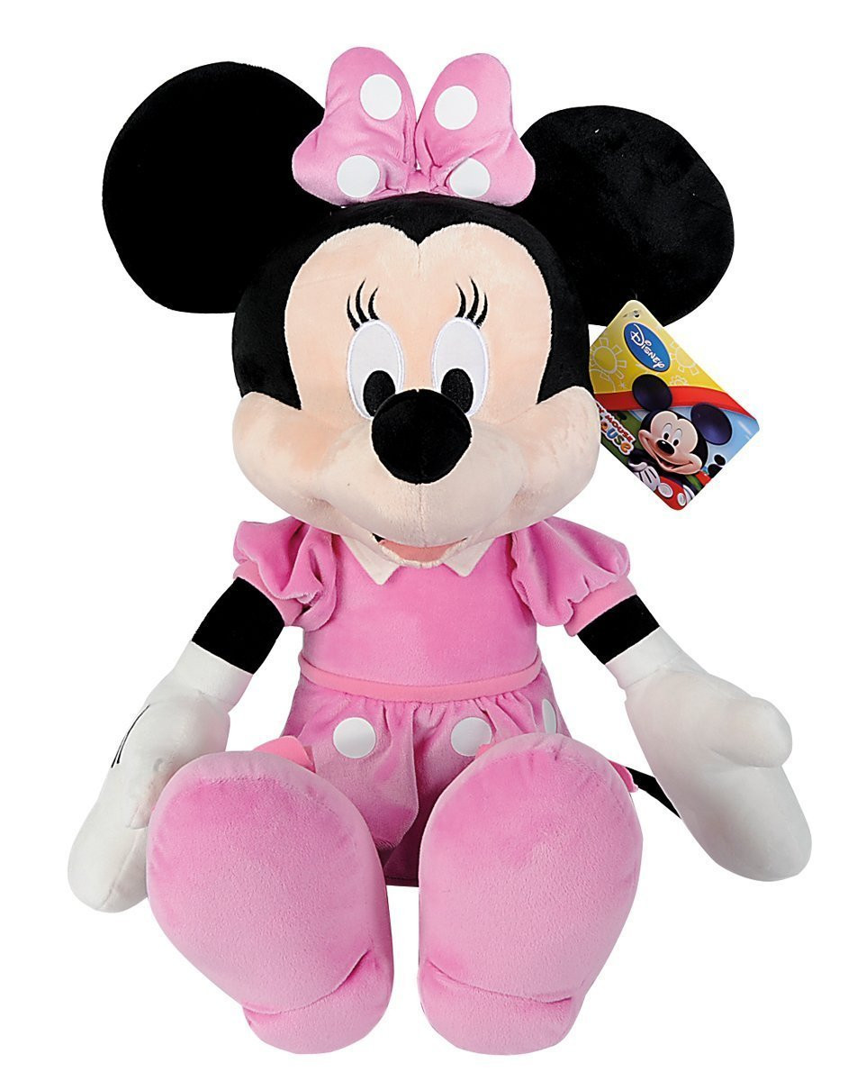 peluche disney topolina minnie club house mickey mouse 30 cm 06106. Black Bedroom Furniture Sets. Home Design Ideas