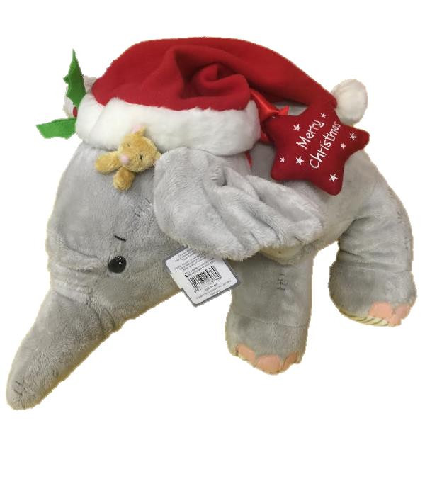 Peluche natalizi Elliot and buttons merry christmas natale 60 cm *07283