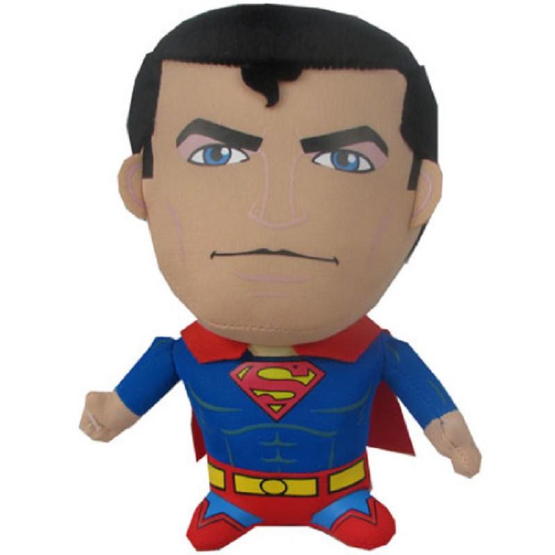 Peluche supeman cm super eroi cartoni animati dc comics