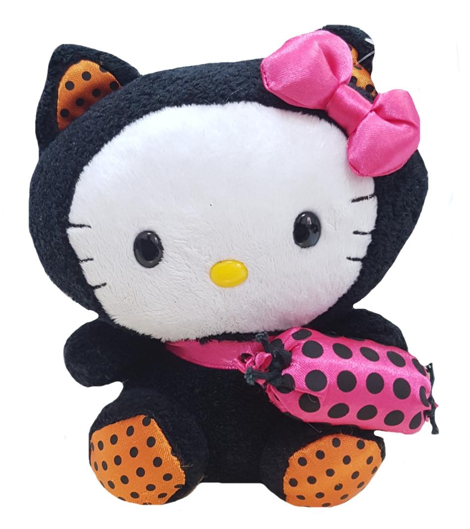 Peluche Hello Kitty Halloween con dolcetto 16 cm | Pelusciamo.com