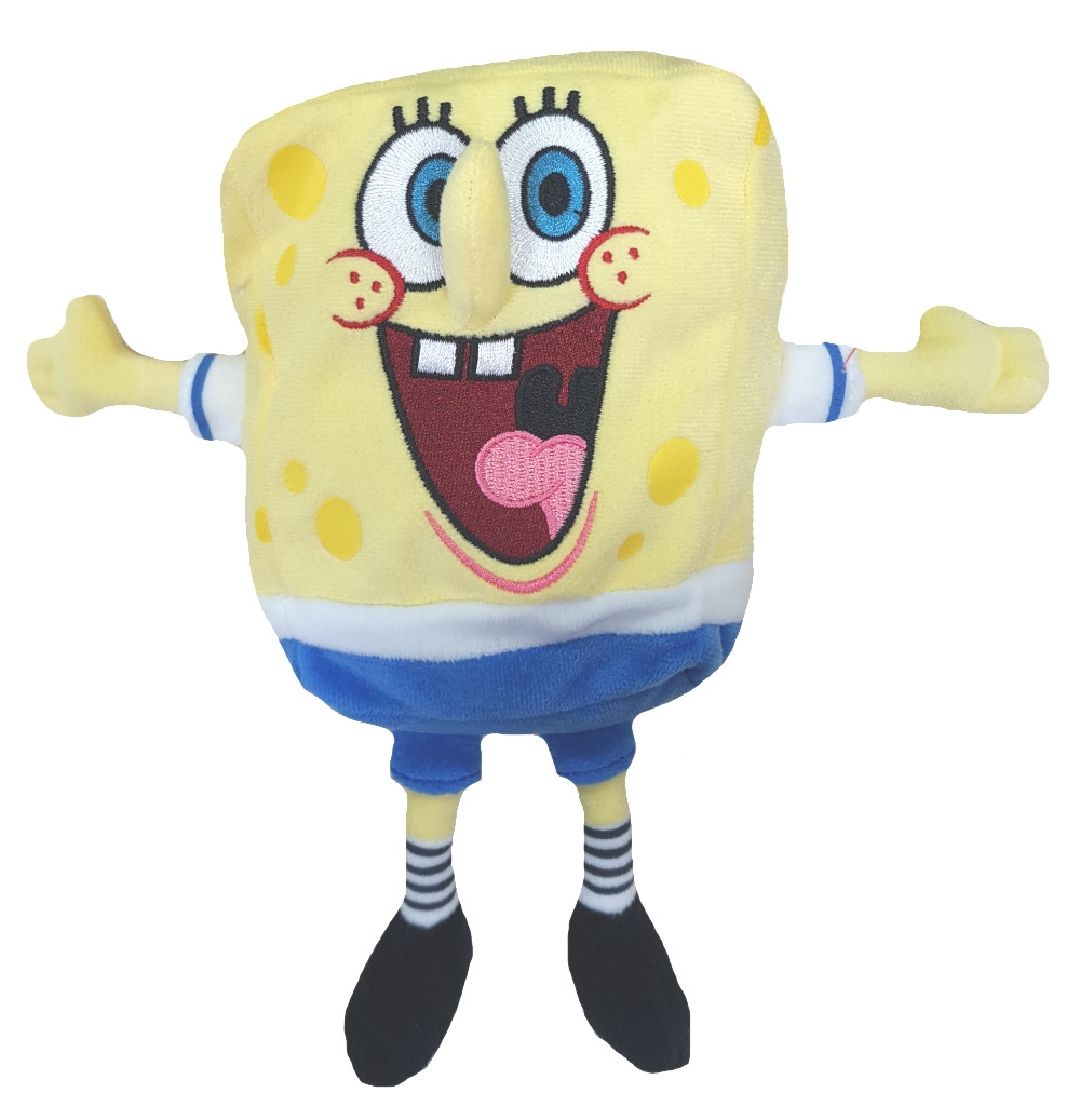 Peluche cartone animato spongebob calciatore cm