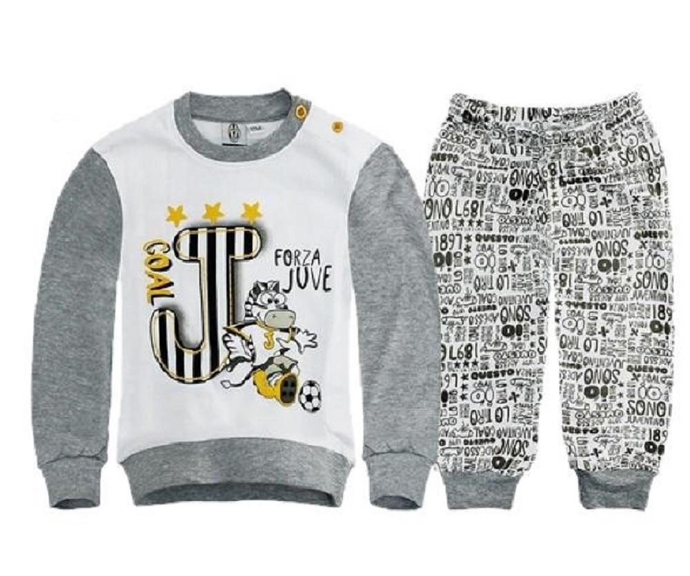 Pigiama Bimbo Juventus Interlock Abbigliamento ufficiale Juve Baby ... 6be7771b941b