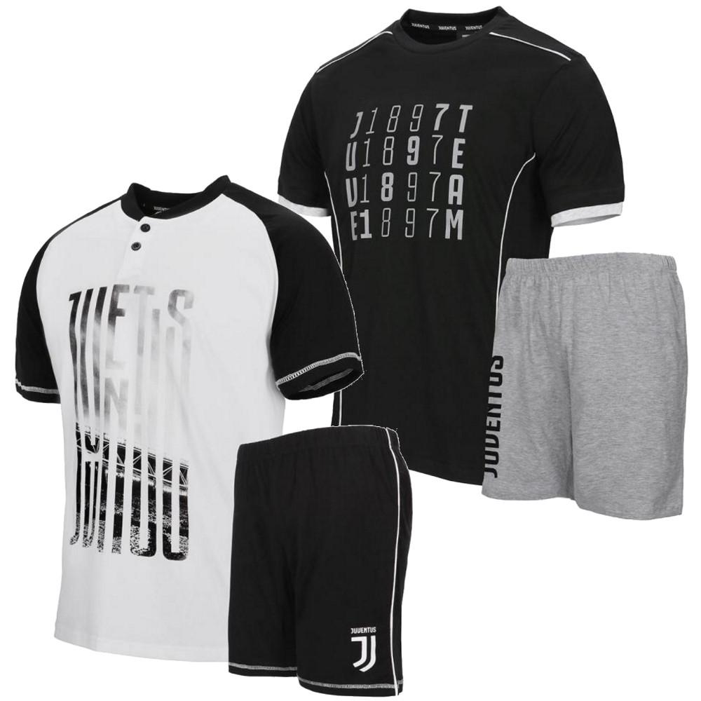 489f8d8072 Pigiama Uomo Juventus Corto Abbigliamento Estivo Juve | Pelusciamo.com
