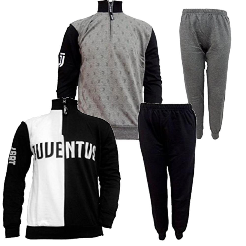 FELPA JUVE CON Zip Abbigliamento Ufficiale Juventus Fc PS
