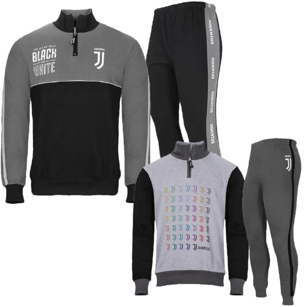 Pigiama Ragazzo Juve Felpato Abbigliamento Ufficiale Juventus PS 28242  Pelusciamo Store Marchirolo