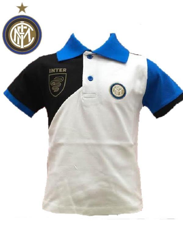 Polo inter piquet bimbo ragazzo originale fc internazionale calcio ...