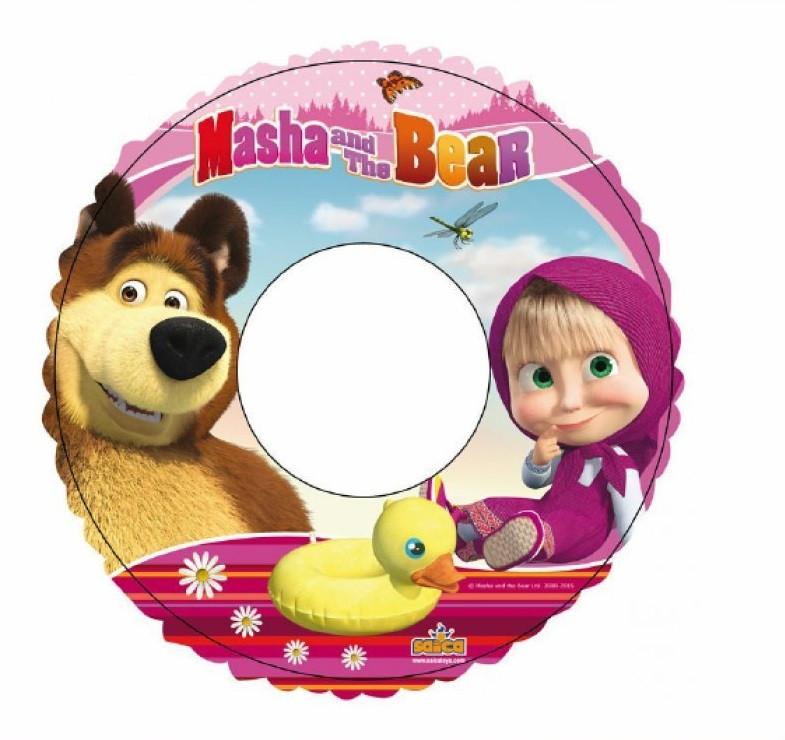 Salvagente bimbi masha e l 39 orso accessori gonfiabili piscina mare 00415 - Costume neonato piscina ...