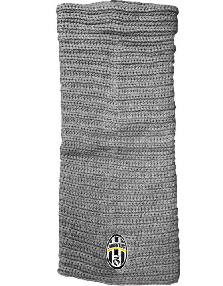 Scaldacollo Juventus Grigio Abbigliamento Invernale Juve Ufficiale PS 01235 Pelusciamo Store Marchirolo