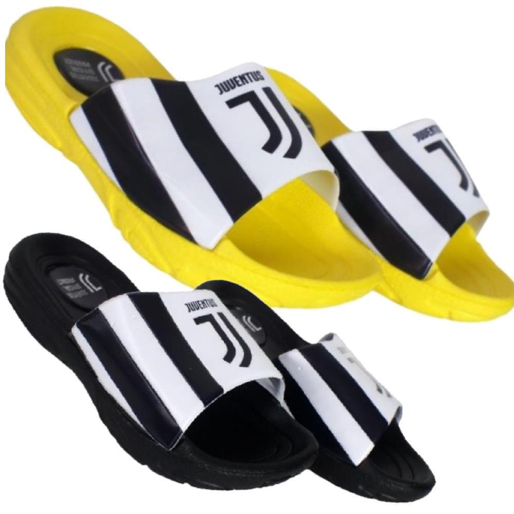 confrontare il prezzo compra meglio doppio coupon Ciabatte Juve Bambino Piscina Mare Originali Juventus FC JJ PS 27227