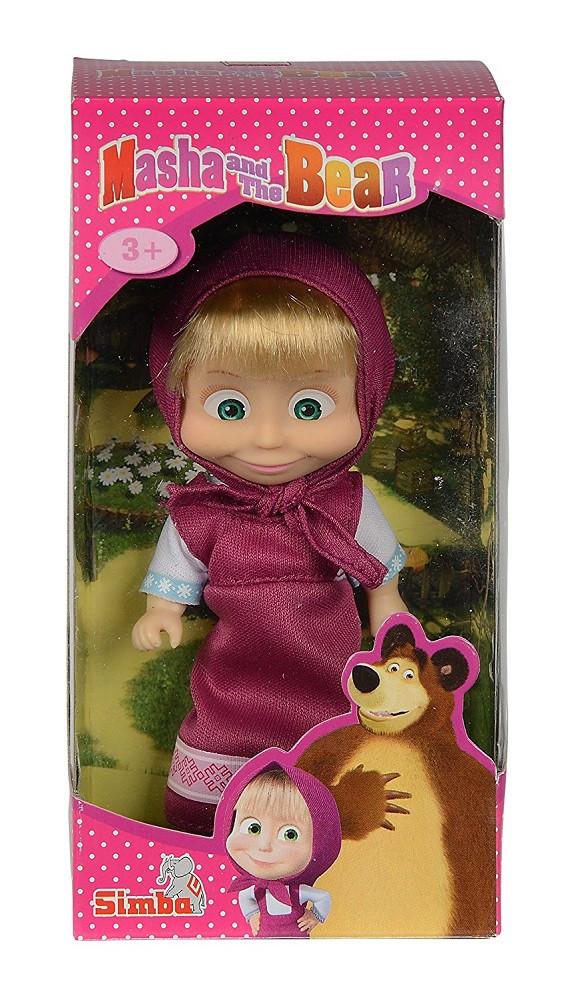 Bambola masha con abito giochi cartone animato