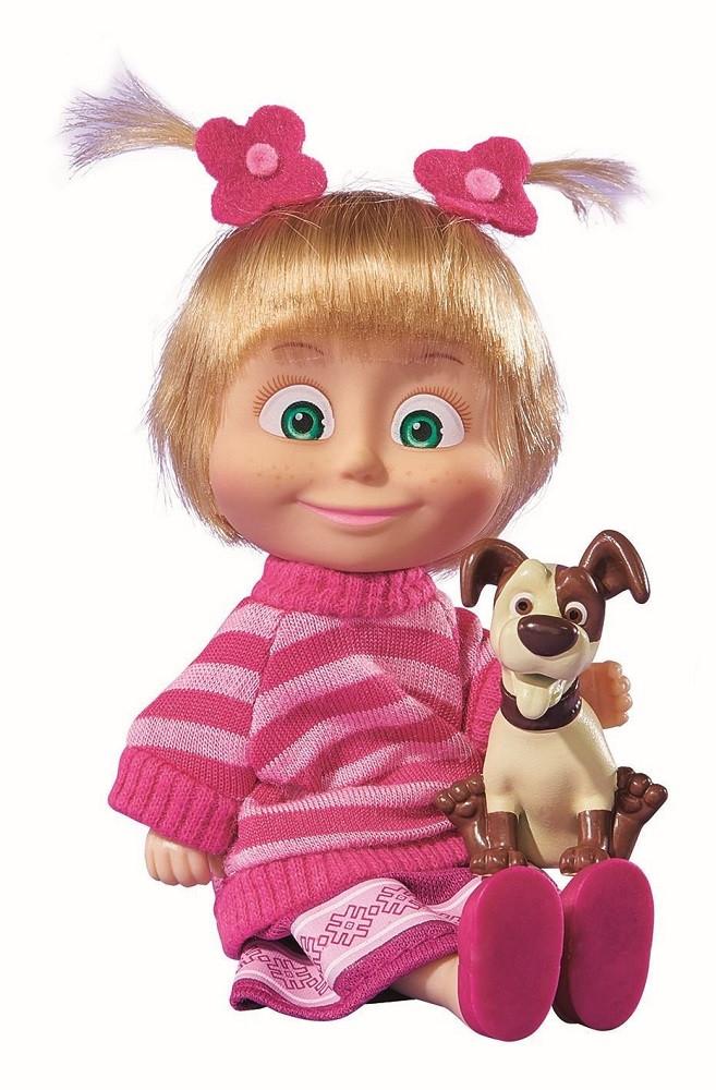 Bambola masha e il cagnolino giochi cartone animato