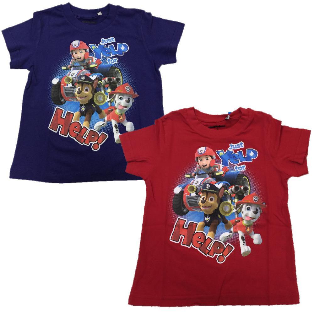 Paw Patrol Bambino T Shirt Maniche Corte