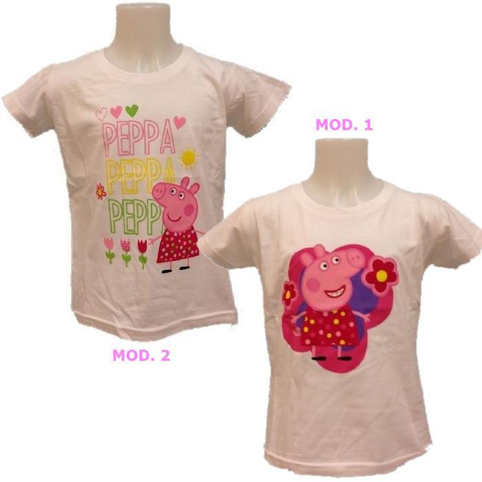 huge discount 7df55 19ecb Abbigliamento bambini cartoni animati T-Shirt maglietta Peppa Pig *16570