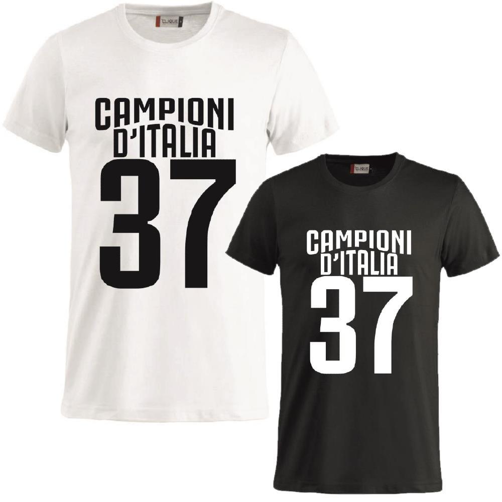 Art T-shirt Canotta Juventus Campioni 2018 Uomo