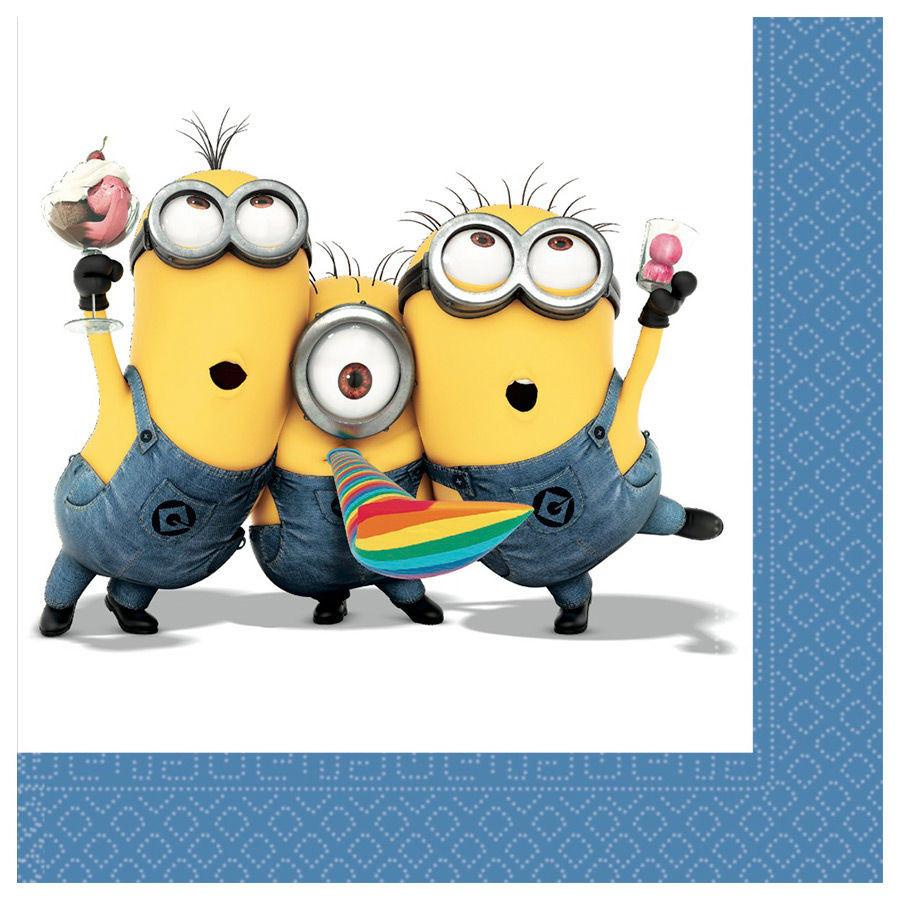Ben noto Carta Minions, Arredo Festa Compleanno Minion *28084 | pelusciamo.com CQ86