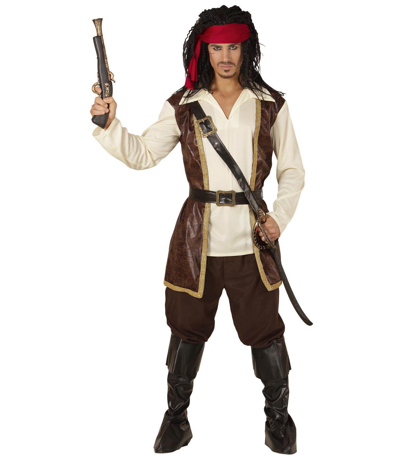 qualità e quantità assicurate 50-70% di sconto aspetto estetico Costume Carnevale Uomo , Travestimento Da Pirata PS 24892
