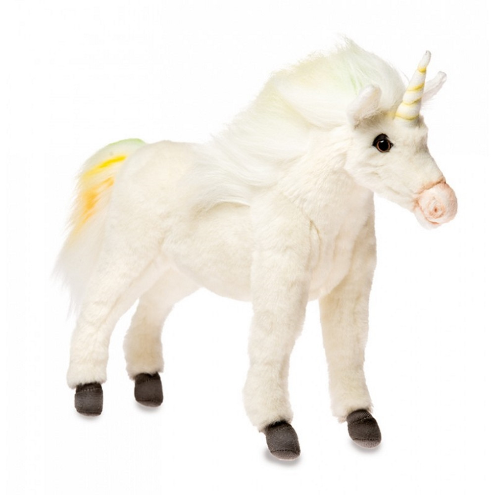 Peluche Unicorno 27 cm Realistico  Hansa   | Pelusciamo.com