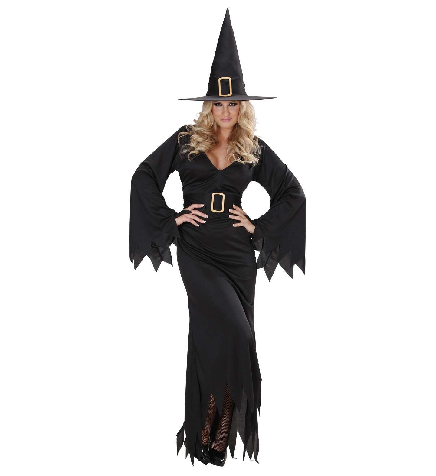 Vestiti Eleganti Halloween.Costume Halloween Donna Vestito Strega Elegante Ps 21848