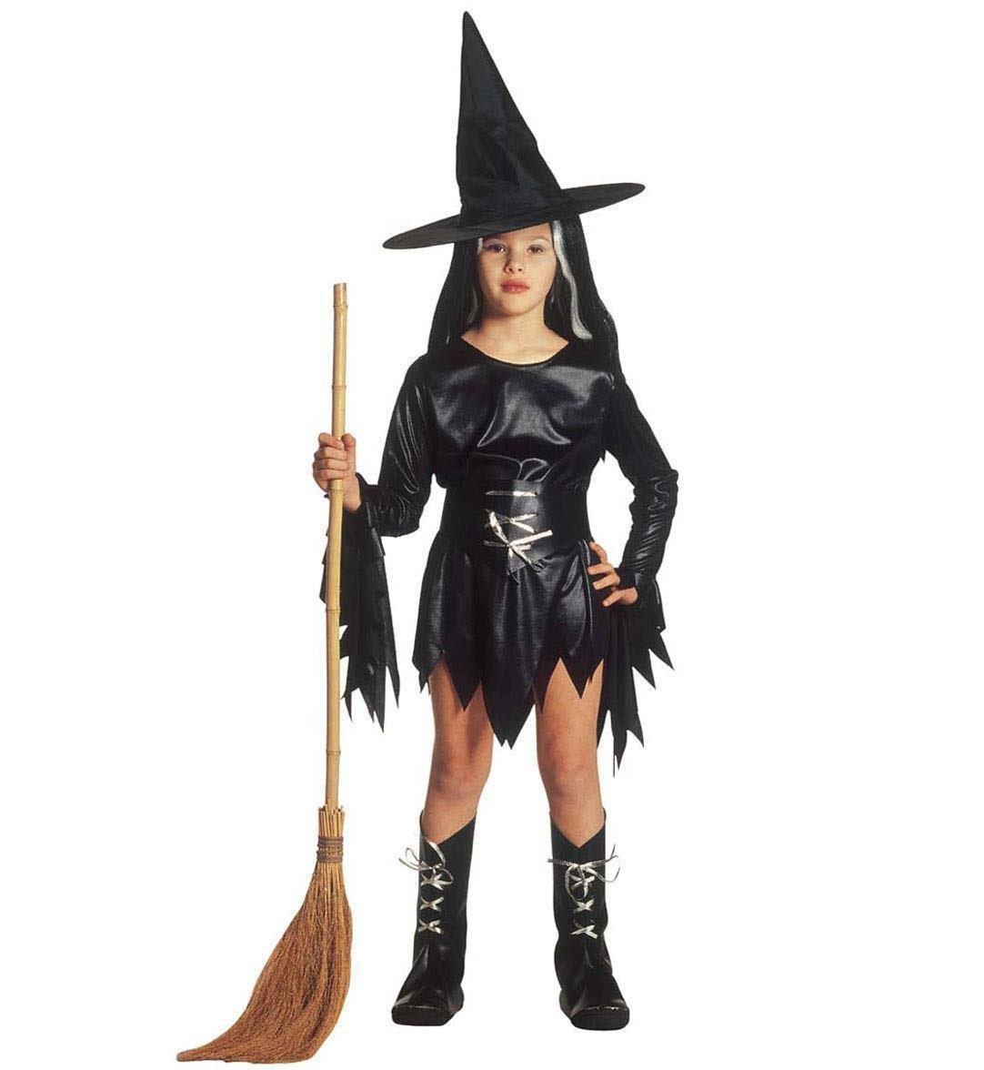 Vestito Da Strega Morgana Halloween Travestimento Bambina PS 25692  Pelusciamo Store Marchirolo 767caac12b01