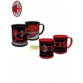 Tazza mug in Pvc 10 cm Ac Milan accessori colazione casa *05944