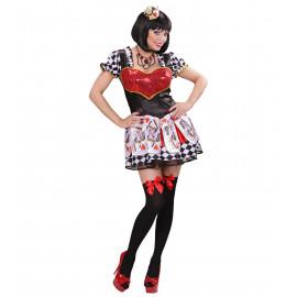 Costume Carnevale Donna Regina Di Cuori PS 20111 Serie Alice Pelusciamo Store Marchirolo