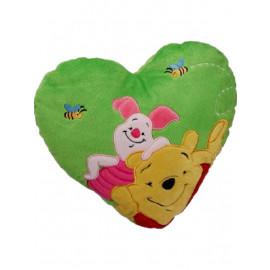 Peluche Cuscino Disney cuore  Winnie & Pimpi 33 cm. *01914