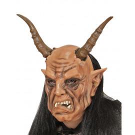 Maschera Da Diavolo Con Parrucca Halloween o Carnevale PS 26181 Pelusciamo Store Marchirolo