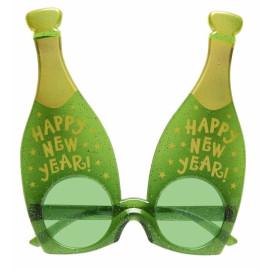 Gadget Capodanno, Occhiali Bottiglia di Champagne *19303