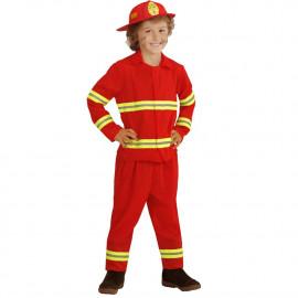 Costume Carnevale Bambino Pompiere Travestimento FireMan PS 26492 Pelusciamo Store Marchirolo