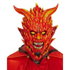 Maschera Diavolo In Fiamme Halloween o Carnevale PS 26183 Pelusciamo Store Marchirolo
