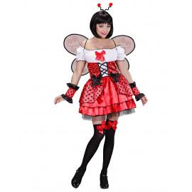 Costume Carnevale Donna Coccinella Ladybug PS 26553 Pelusciamo Store Marchirolo