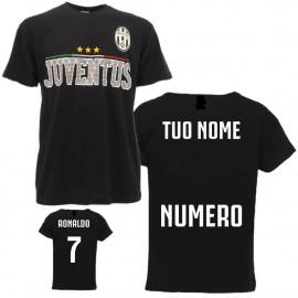 T-shirt Juve Personalizzabile Nome e Numero Originale Juventus FC Calcio PS 20847pers
