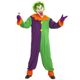 Costume Clown Evil Joker Travestimento Halloween Horror PS 25849 Pelusciamo Store Marchirolo
