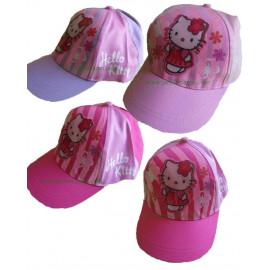 Cappellino baseball con visiera Bambina Hello Kitty glitter *08267