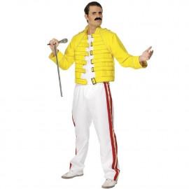 Costume Carnevale Freddie Mercury Queen Live in Wembley 1986 PS 08476 Pelusciamo Store Marchirolo