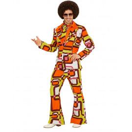 Costume Carnevale Uomo Anni 70 Groovy Style PS 26253 Pelusciamo Store Marchirolo