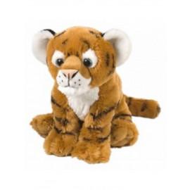 Peluche tigre marrone 25 cm. Wild Repubblic animali savana * 10587